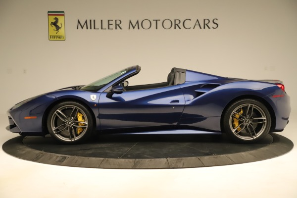 Used 2019 Ferrari 488 Spider for sale Sold at Bugatti of Greenwich in Greenwich CT 06830 3