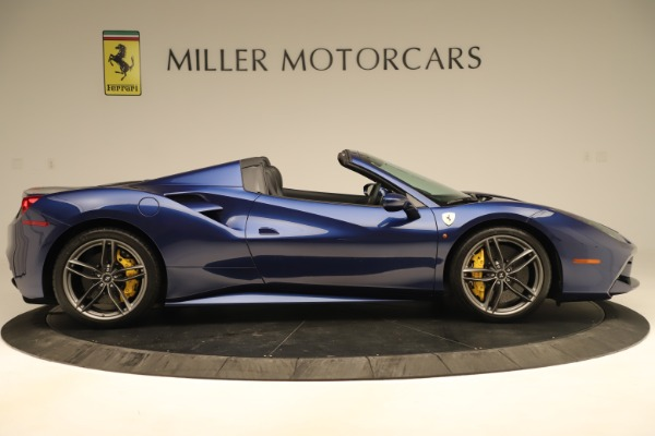 Used 2019 Ferrari 488 Spider for sale Sold at Bugatti of Greenwich in Greenwich CT 06830 9
