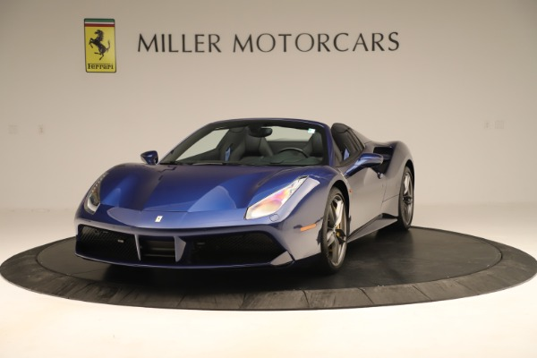 Used 2019 Ferrari 488 Spider for sale Sold at Bugatti of Greenwich in Greenwich CT 06830 1