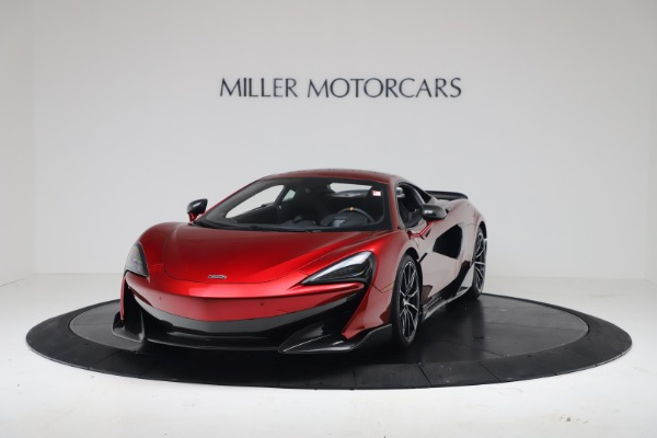 New 2019 McLaren 600LT for sale $285,236 at Bugatti of Greenwich in Greenwich CT 06830 13
