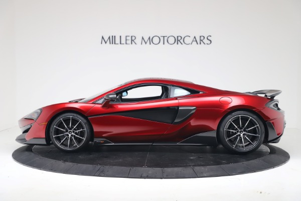 New 2019 McLaren 600LT for sale $285,236 at Bugatti of Greenwich in Greenwich CT 06830 2