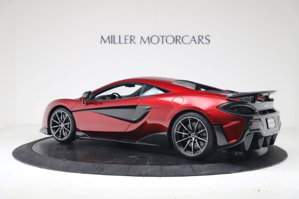 New 2019 McLaren 600LT for sale $285,236 at Bugatti of Greenwich in Greenwich CT 06830 3