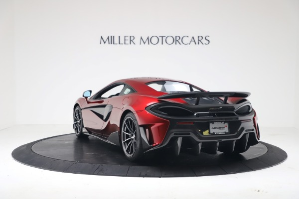 New 2019 McLaren 600LT Luxury for sale $285,236 at Bugatti of Greenwich in Greenwich CT 06830 4