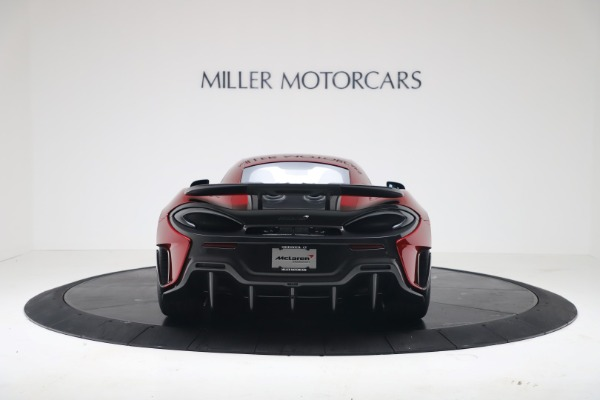 New 2019 McLaren 600LT for sale $285,236 at Bugatti of Greenwich in Greenwich CT 06830 5