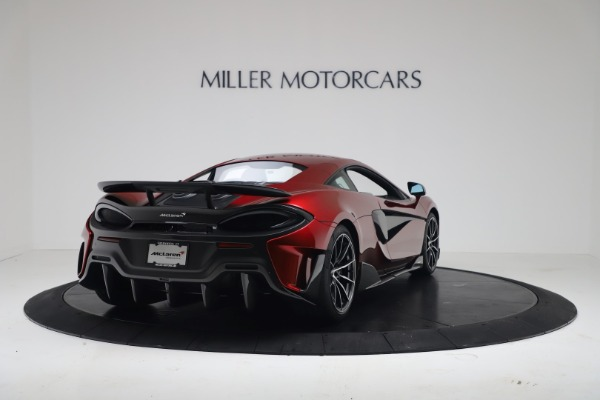 New 2019 McLaren 600LT for sale $285,236 at Bugatti of Greenwich in Greenwich CT 06830 6