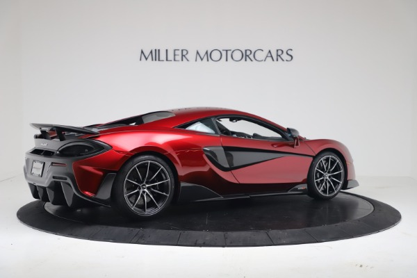 New 2019 McLaren 600LT for sale $285,236 at Bugatti of Greenwich in Greenwich CT 06830 7