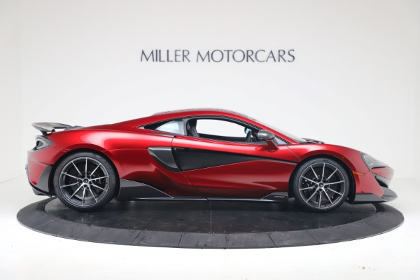 New 2019 McLaren 600LT Coupe for sale $285,236 at Bugatti of Greenwich in Greenwich CT 06830 8