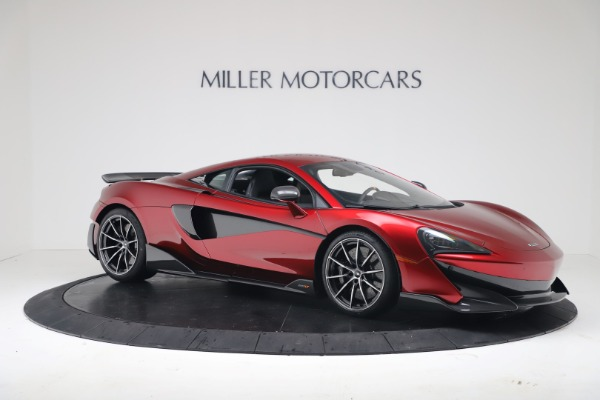 New 2019 McLaren 600LT for sale $285,236 at Bugatti of Greenwich in Greenwich CT 06830 9