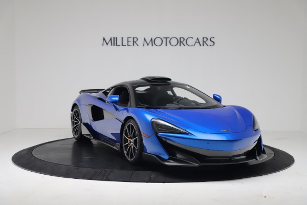 New 2019 McLaren 600LT Coupe for sale Sold at Bugatti of Greenwich in Greenwich CT 06830 10