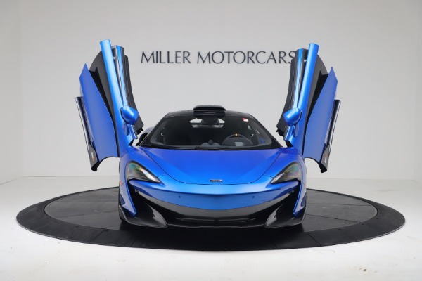 New 2019 McLaren 600LT Coupe for sale Sold at Bugatti of Greenwich in Greenwich CT 06830 11