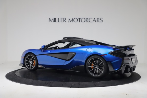 New 2019 McLaren 600LT Coupe for sale Sold at Bugatti of Greenwich in Greenwich CT 06830 3