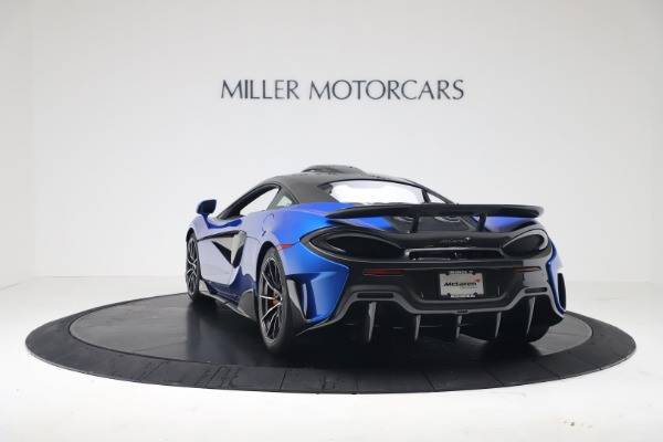 New 2019 McLaren 600LT Coupe for sale Sold at Bugatti of Greenwich in Greenwich CT 06830 4
