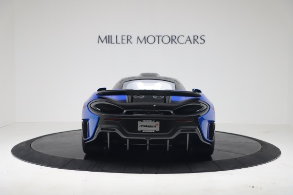 New 2019 McLaren 600LT Coupe for sale Sold at Bugatti of Greenwich in Greenwich CT 06830 5