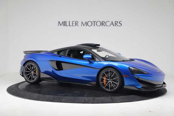 New 2019 McLaren 600LT Coupe for sale Sold at Bugatti of Greenwich in Greenwich CT 06830 9