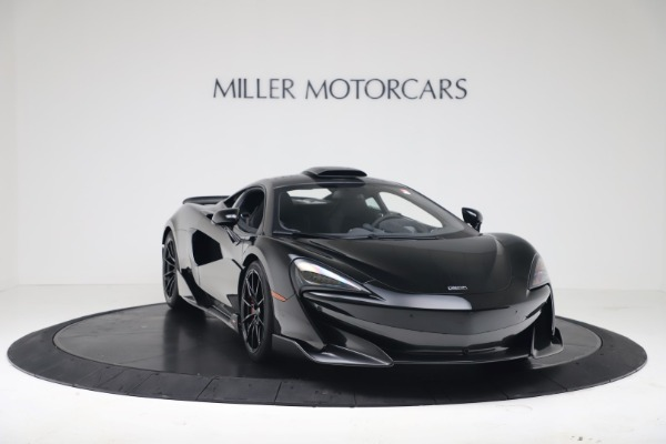 New 2019 McLaren 600LT Coupe for sale $305,639 at Bugatti of Greenwich in Greenwich CT 06830 10
