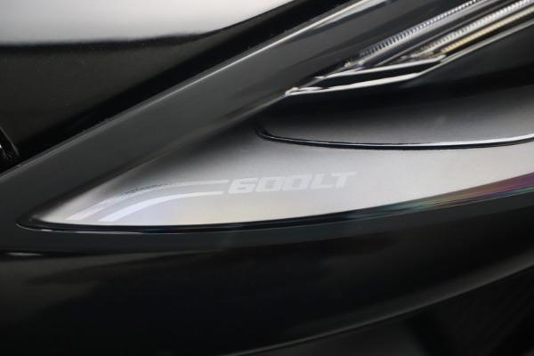 New 2019 McLaren 600LT for sale $305,639 at Bugatti of Greenwich in Greenwich CT 06830 14