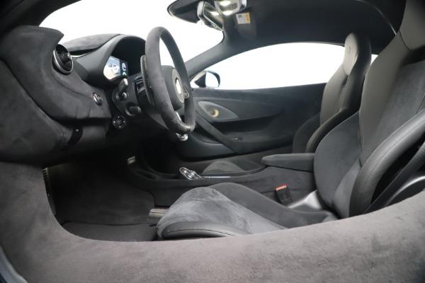 New 2019 McLaren 600LT for sale $305,639 at Bugatti of Greenwich in Greenwich CT 06830 19