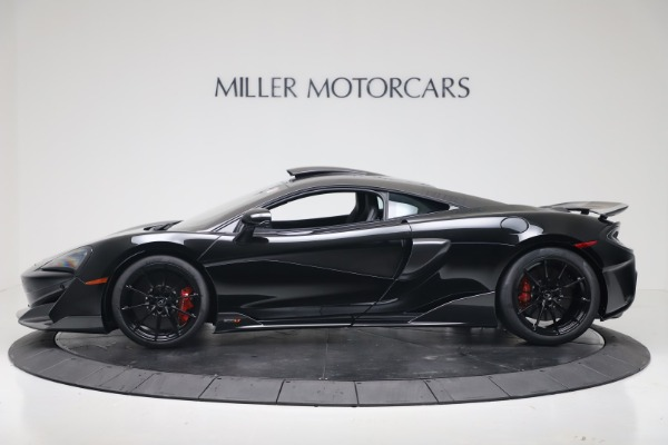 New 2019 McLaren 600LT Coupe for sale $305,639 at Bugatti of Greenwich in Greenwich CT 06830 2