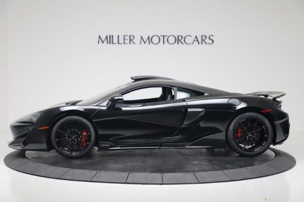 New 2019 McLaren 600LT for sale $305,639 at Bugatti of Greenwich in Greenwich CT 06830 2