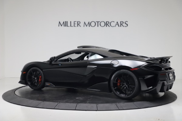 New 2019 McLaren 600LT Coupe for sale $305,639 at Bugatti of Greenwich in Greenwich CT 06830 3