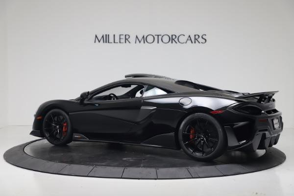 New 2019 McLaren 600LT for sale $305,639 at Bugatti of Greenwich in Greenwich CT 06830 3