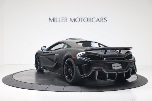 New 2019 McLaren 600LT for sale $305,639 at Bugatti of Greenwich in Greenwich CT 06830 4
