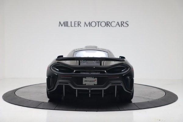 New 2019 McLaren 600LT Coupe for sale $305,639 at Bugatti of Greenwich in Greenwich CT 06830 5