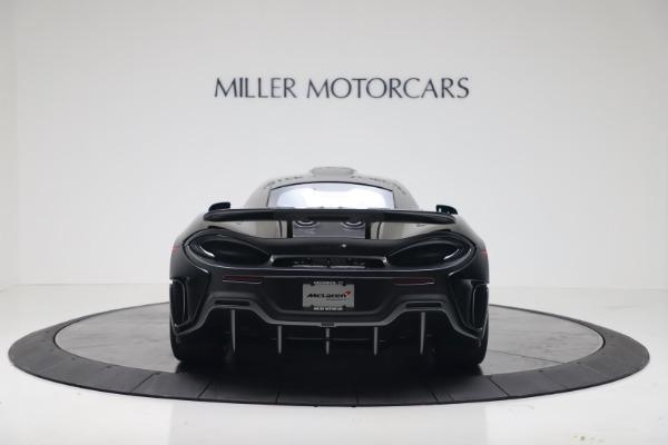 New 2019 McLaren 600LT for sale $305,639 at Bugatti of Greenwich in Greenwich CT 06830 5