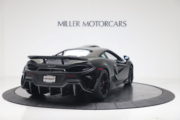 New 2019 McLaren 600LT for sale $305,639 at Bugatti of Greenwich in Greenwich CT 06830 6