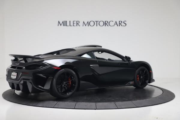 New 2019 McLaren 600LT for sale $305,639 at Bugatti of Greenwich in Greenwich CT 06830 7