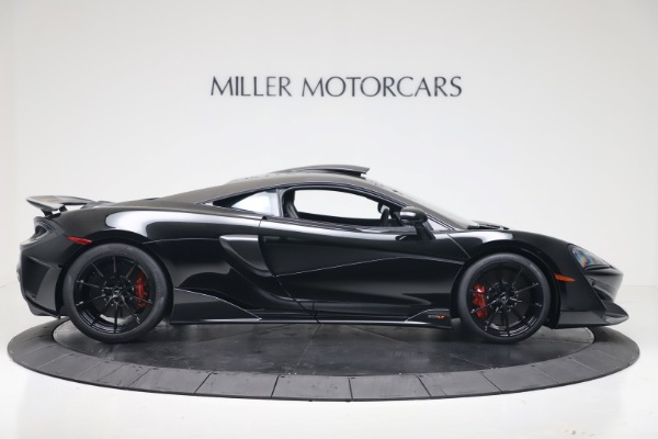 New 2019 McLaren 600LT Coupe for sale $305,639 at Bugatti of Greenwich in Greenwich CT 06830 8