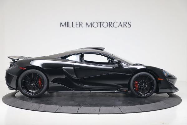 New 2019 McLaren 600LT for sale $305,639 at Bugatti of Greenwich in Greenwich CT 06830 8