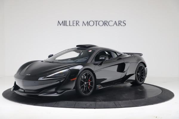 New 2019 McLaren 600LT for sale $305,639 at Bugatti of Greenwich in Greenwich CT 06830 1