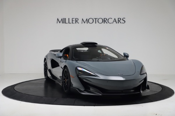 New 2019 McLaren 600LT Coupe for sale $311,619 at Bugatti of Greenwich in Greenwich CT 06830 10