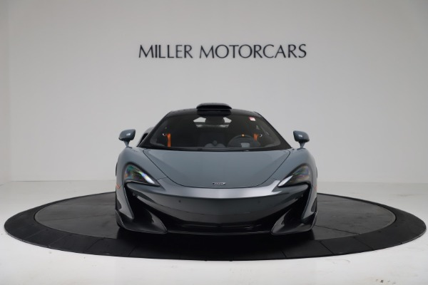New 2019 McLaren 600LT for sale $311,619 at Bugatti of Greenwich in Greenwich CT 06830 12