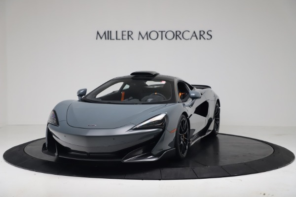 New 2019 McLaren 600LT Coupe for sale $311,619 at Bugatti of Greenwich in Greenwich CT 06830 13