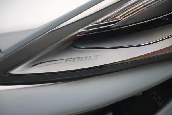 New 2019 McLaren 600LT for sale $311,619 at Bugatti of Greenwich in Greenwich CT 06830 14