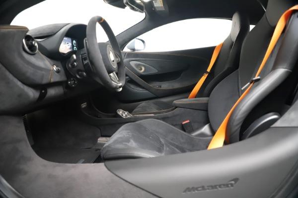 New 2019 McLaren 600LT for sale $311,619 at Bugatti of Greenwich in Greenwich CT 06830 19