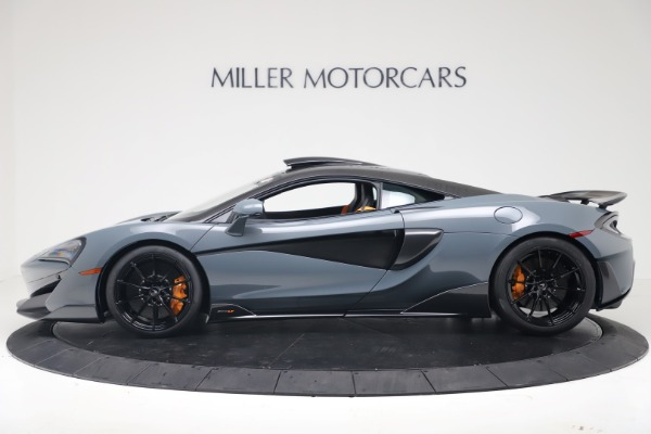 New 2019 McLaren 600LT Coupe for sale $311,619 at Bugatti of Greenwich in Greenwich CT 06830 2