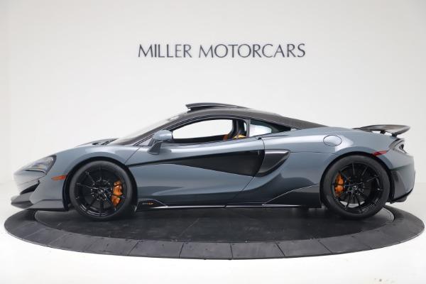 New 2019 McLaren 600LT for sale $311,619 at Bugatti of Greenwich in Greenwich CT 06830 2
