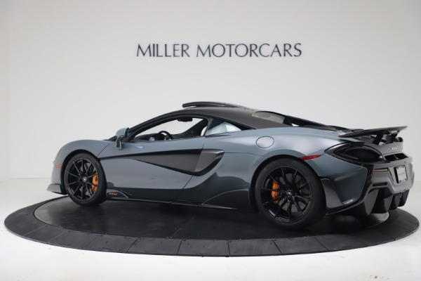 New 2019 McLaren 600LT Coupe for sale $311,619 at Bugatti of Greenwich in Greenwich CT 06830 3