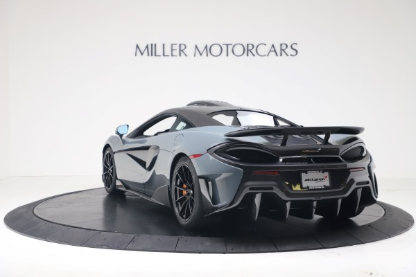 New 2019 McLaren 600LT Coupe for sale $311,619 at Bugatti of Greenwich in Greenwich CT 06830 4