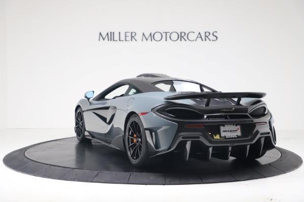New 2019 McLaren 600LT for sale $311,619 at Bugatti of Greenwich in Greenwich CT 06830 4
