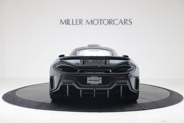 New 2019 McLaren 600LT for sale $311,619 at Bugatti of Greenwich in Greenwich CT 06830 5