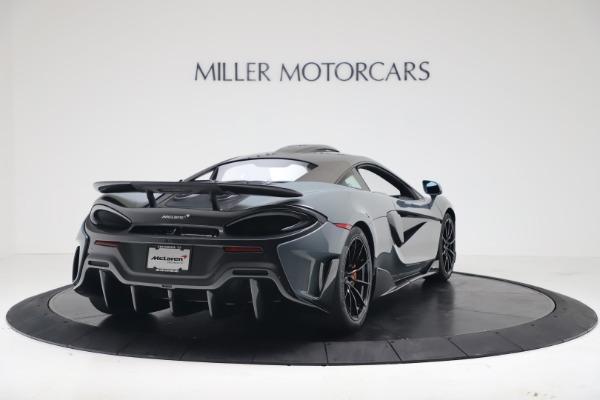 New 2019 McLaren 600LT for sale $311,619 at Bugatti of Greenwich in Greenwich CT 06830 6