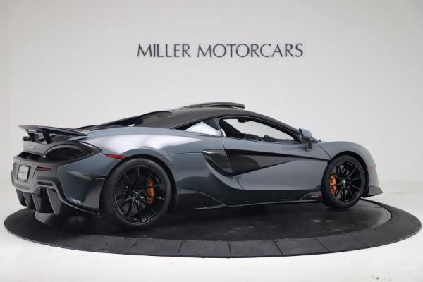 New 2019 McLaren 600LT for sale $311,619 at Bugatti of Greenwich in Greenwich CT 06830 7