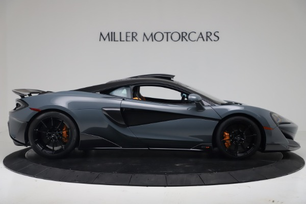 New 2019 McLaren 600LT Coupe for sale $311,619 at Bugatti of Greenwich in Greenwich CT 06830 8