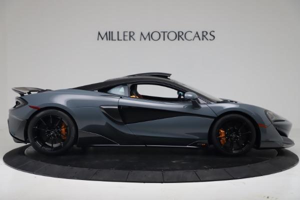 New 2019 McLaren 600LT for sale $311,619 at Bugatti of Greenwich in Greenwich CT 06830 8