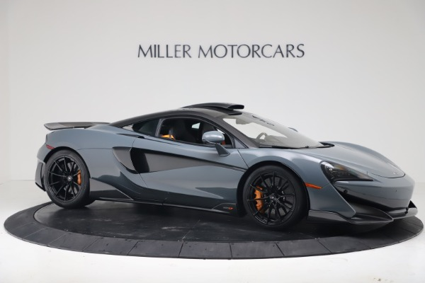 New 2019 McLaren 600LT Coupe for sale $311,619 at Bugatti of Greenwich in Greenwich CT 06830 9