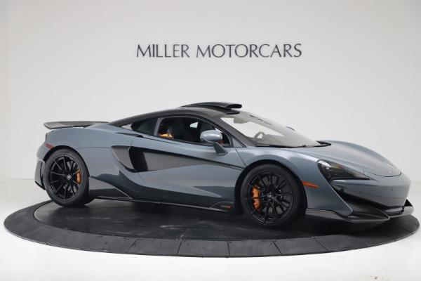 New 2019 McLaren 600LT for sale $311,619 at Bugatti of Greenwich in Greenwich CT 06830 9